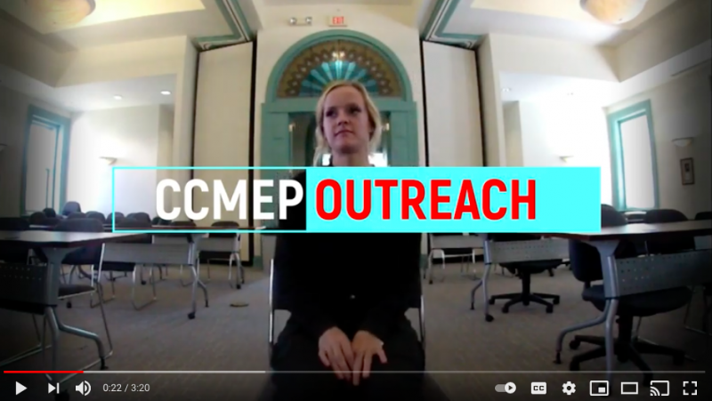 CCMEP OUTREACH OCTOBER 2020